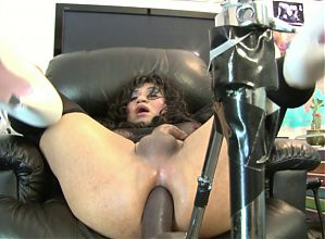 Dildo Crazed Mya Tranny