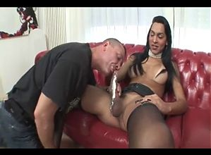 Big cock latina T-Girl