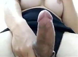 Pretty Brazilian Princess showing her nice penis - part II