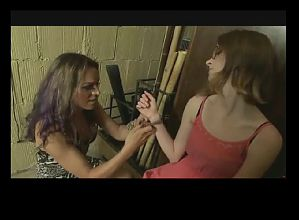 TS Milf Teaches Teen Girl BVR
