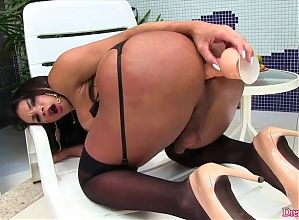 DreamTranny - Big Ass Trannies Take Rubber Dicks Compilation